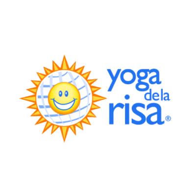 logotipo yoga de la risa